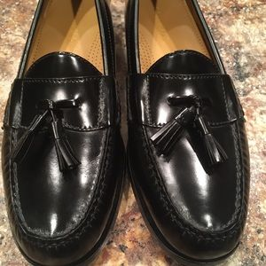 Cole Haan Pinched Tassle Loafers